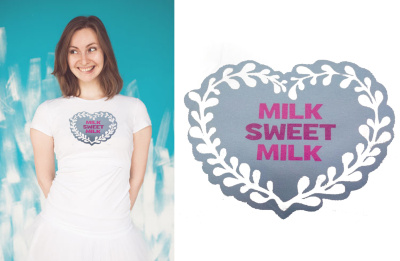 Футболка Vmeste milk sweet milk